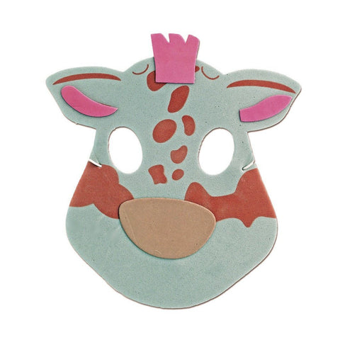 Childrens Masks - Giraffe Childrens Foam Animal Mask