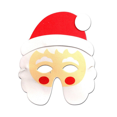Father Christmas Childrens Foam Mask