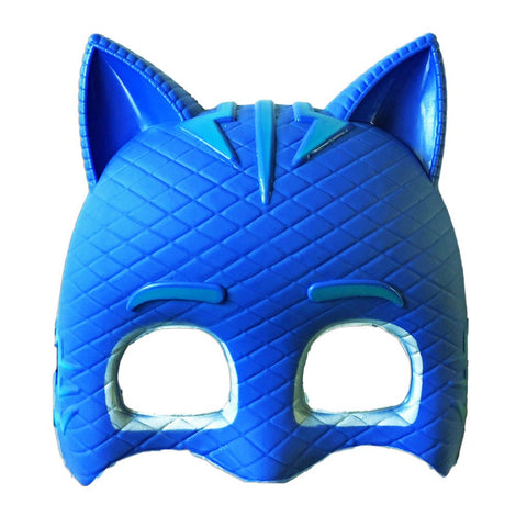 Childrens Cat Boy Fancy Dress Mask - PVC Mask - Simply Party Supplies