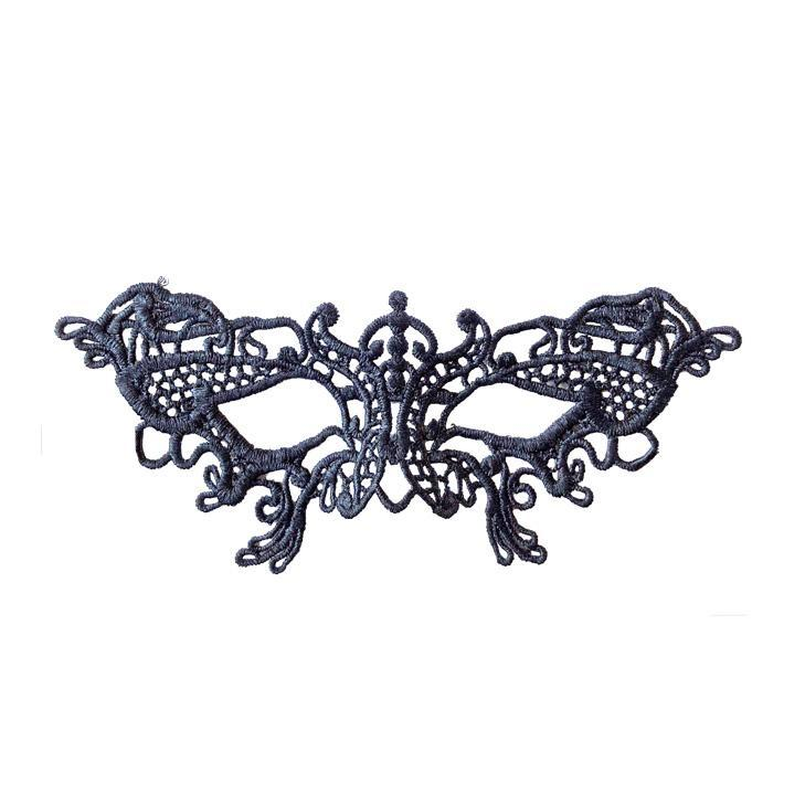 Masquerade Mask - Economy Petite Butterfly String Masquerade Mask Black