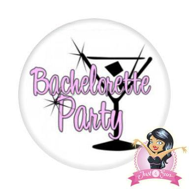 Bachelorette Party Button (DEV0521) - Bachelorette Accessories - Button Badge - Simply Party Supplies