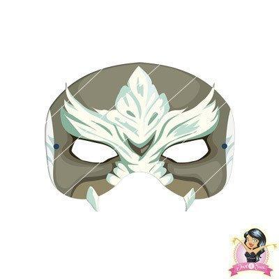 Childrens DIY Printable Doomsday Mask - Printable Masks - Simply Party Supplies