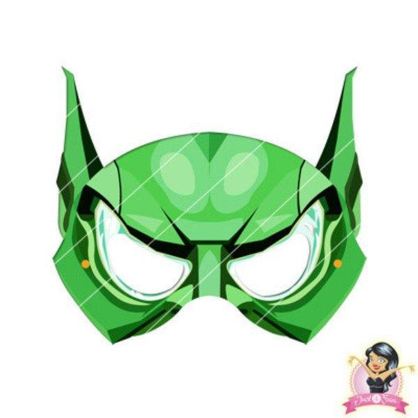 Childrens DIY Printable Green Goblin Mask - Printable Masks - Simply Party Supplies