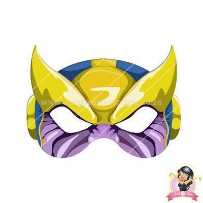 Childrens DIY Printable Thanos Mask boys, childrens, digital by link, half masks, masks, printable, superhero mask, villains