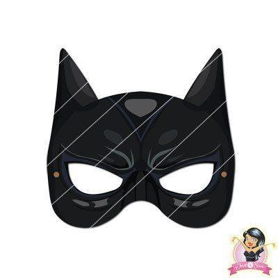 image regarding Batgirl Mask Printable identified as Purchase Childrens Do-it-yourself Printable Catwoman Mask at Conveniently Bash Resources for simply just R 7.50