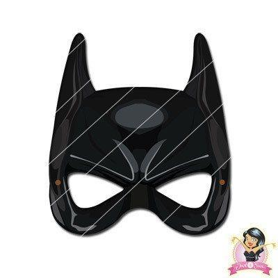 Childrens DIY Printable Batman Mask batman, boys, childrens, digital by link, half masks, heroes, masks, printable, superhero mask