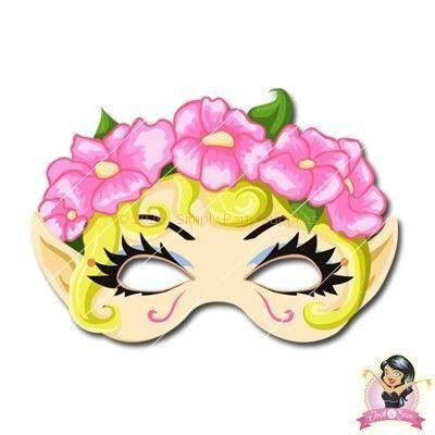 Childrens DIY Printable Fairy Mask