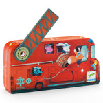 Djeco The Fire Truck 16pc Puzzle