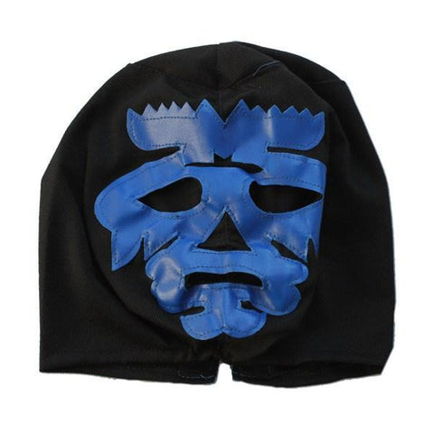 PVC Mask - Childrens Luchador Fancy Dress Mask - Blue