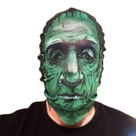 Scary Green Zombie Stocking Mask