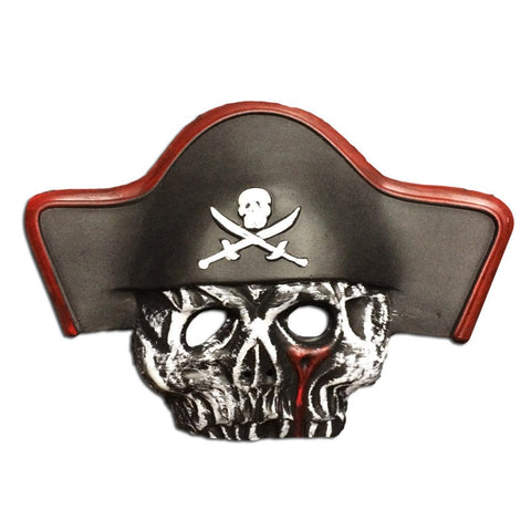 EVA Foam Pirate Mask - Buccaneer Skull
