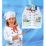 Childrens Chefs Costume Ages 4-7