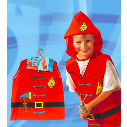 Childrens Fireman Costume Ages 4-7 - Fancy Dress Costume - Simply Party Supplies