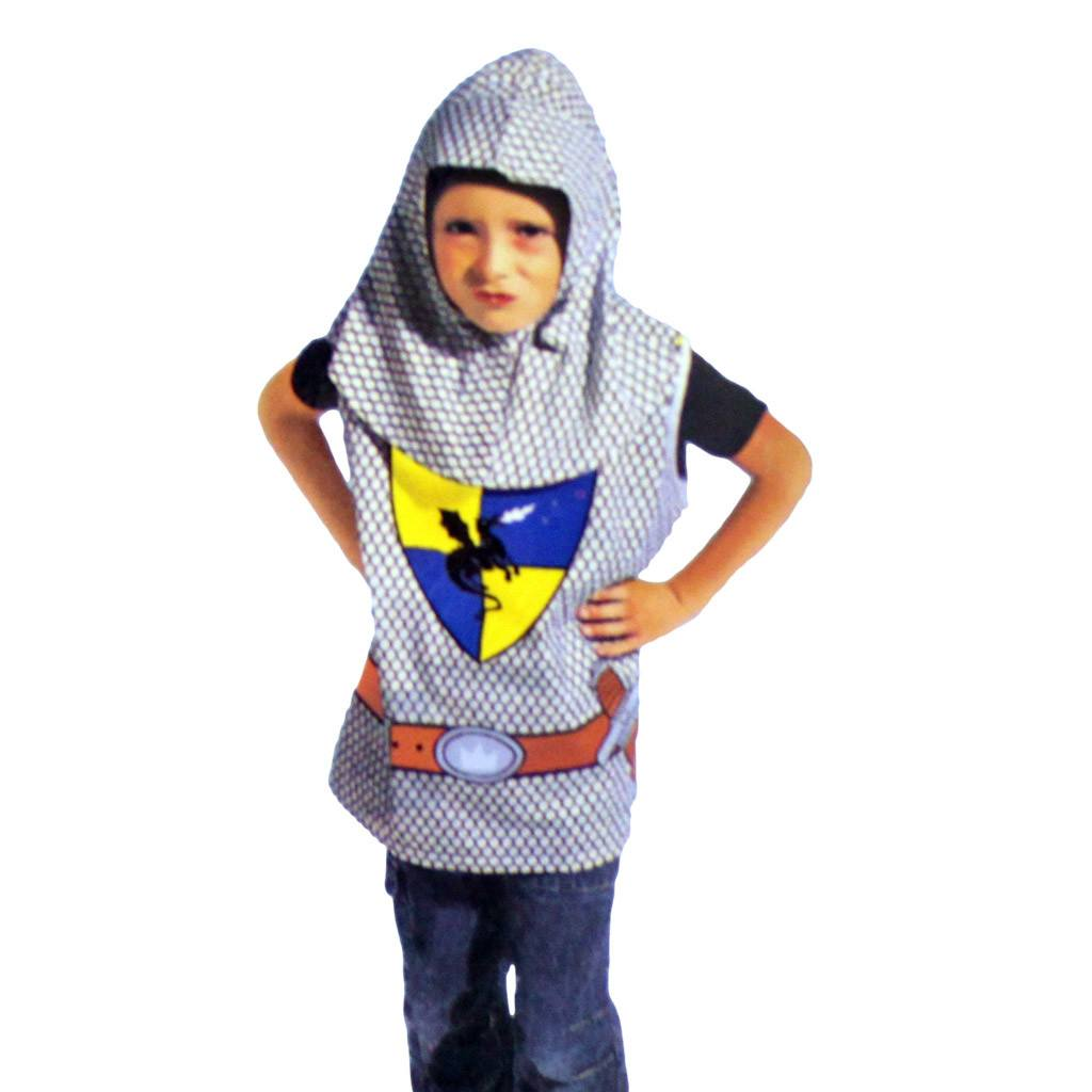 Childrens Medieval Knight Costume Ages 4-7 boys, childrens, costume, fancy dress, knight, medieval