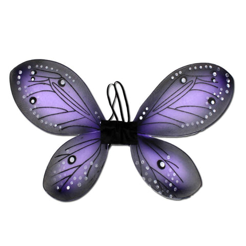 Fancy Dress Costume - Girls Blue Butterly Wings