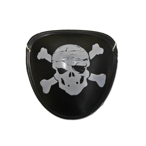 Fancy Dress Costume Accessory - Pirates Skull Eye Patch