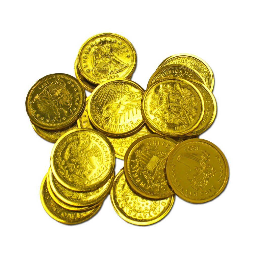 Fancy Dress Costume Accessory - Pirates Gold Doubloons