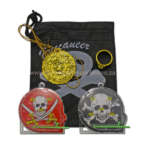 Pirates Loot Bag With Game