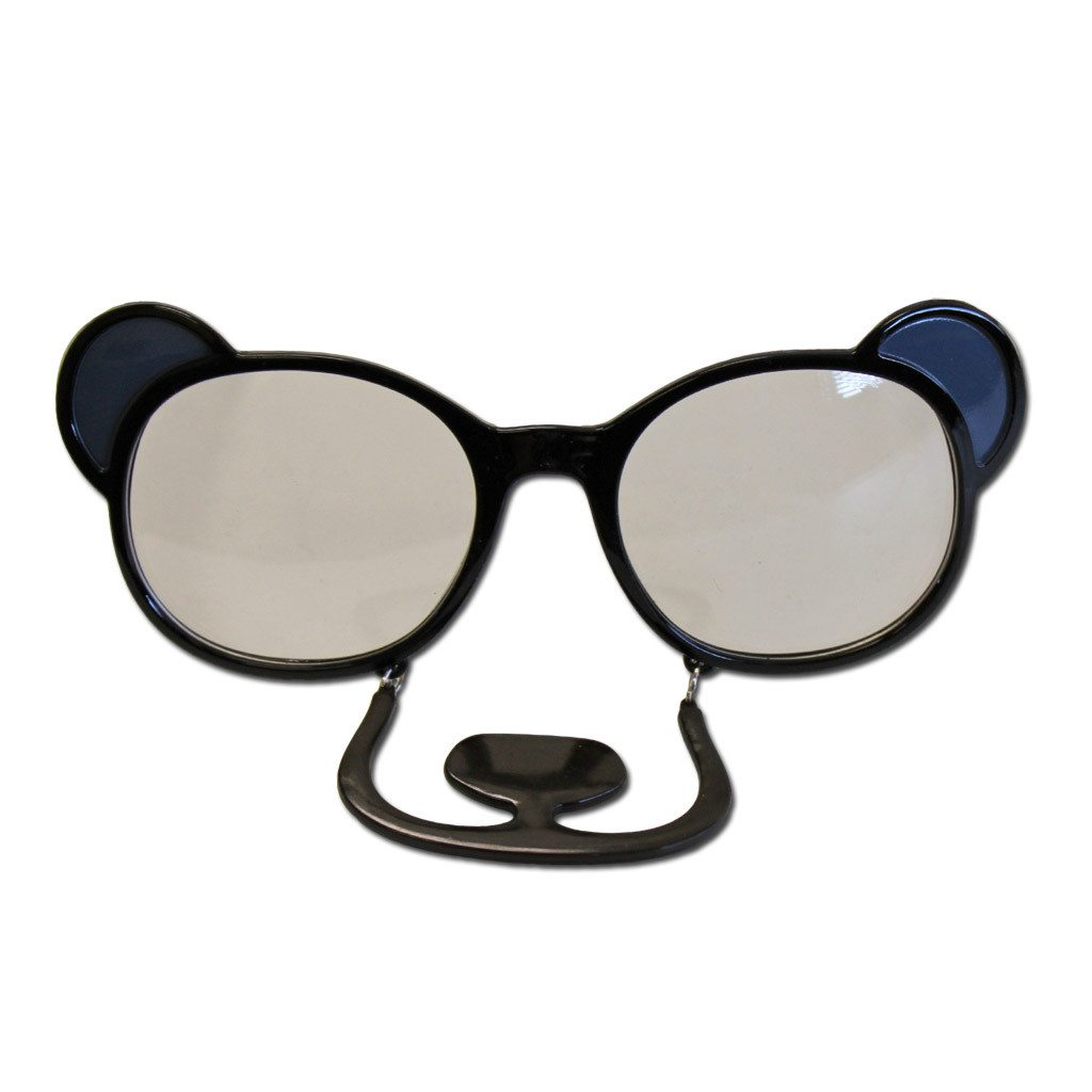 Bear Fancy Dress Glasses accessories, animals, fancy dress, funny, glasses, masquerade, mens, womens