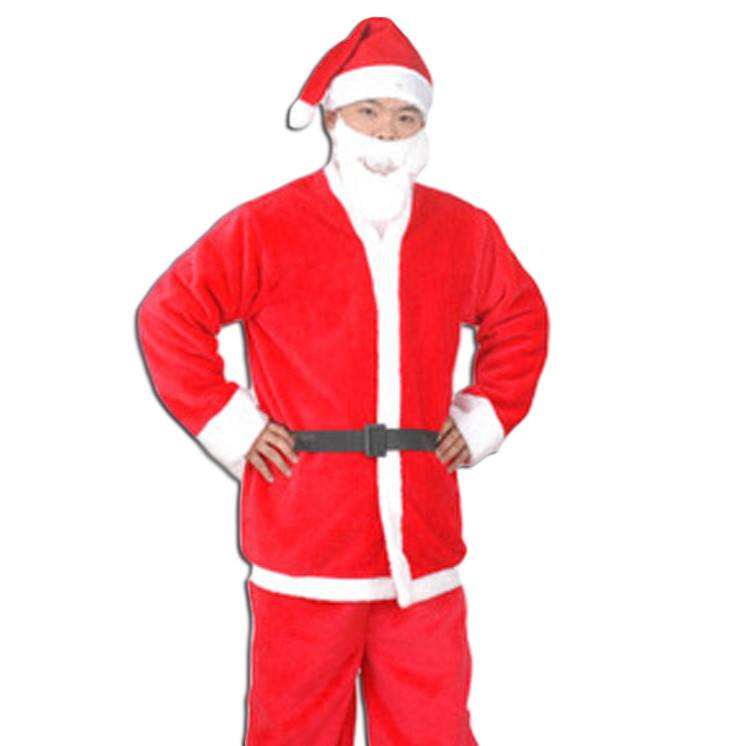 Fancy Dress Costume - Regular Christmas Santa Claus Costume