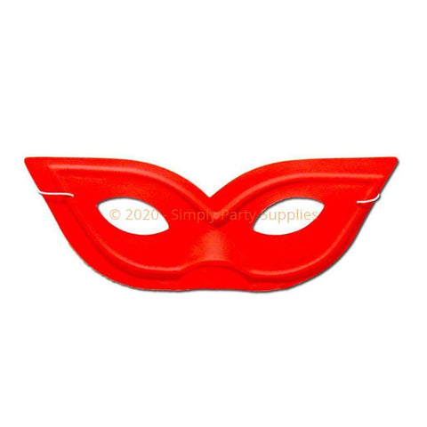 Pointy Red Masquerade Mask childrens, fancy dress, girls, mardi gras, masks, masquerade, red, womens