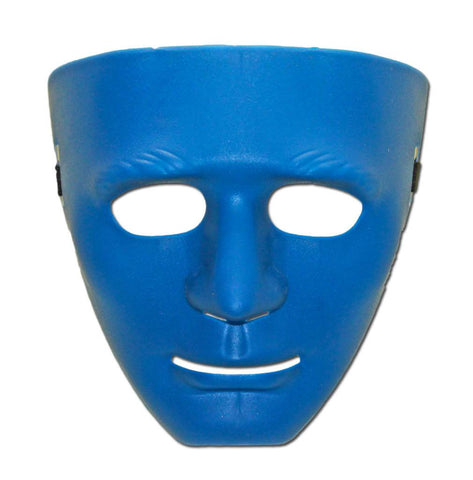 PVC Mask - Blue Jabbawockeez Mask