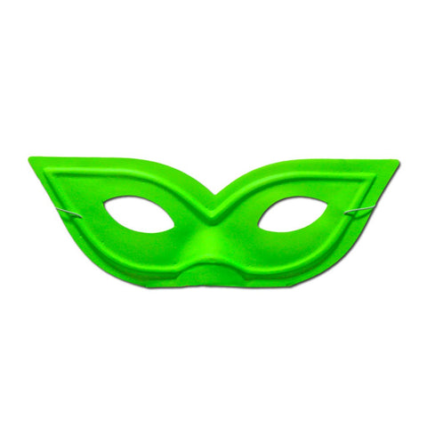 Pointy Neon Green Masquerade Mask