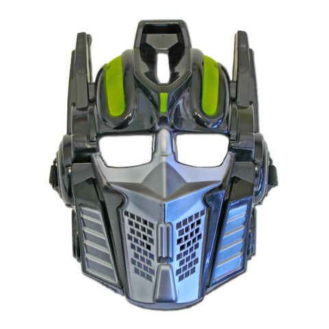 Childrens Black Transformer Mask