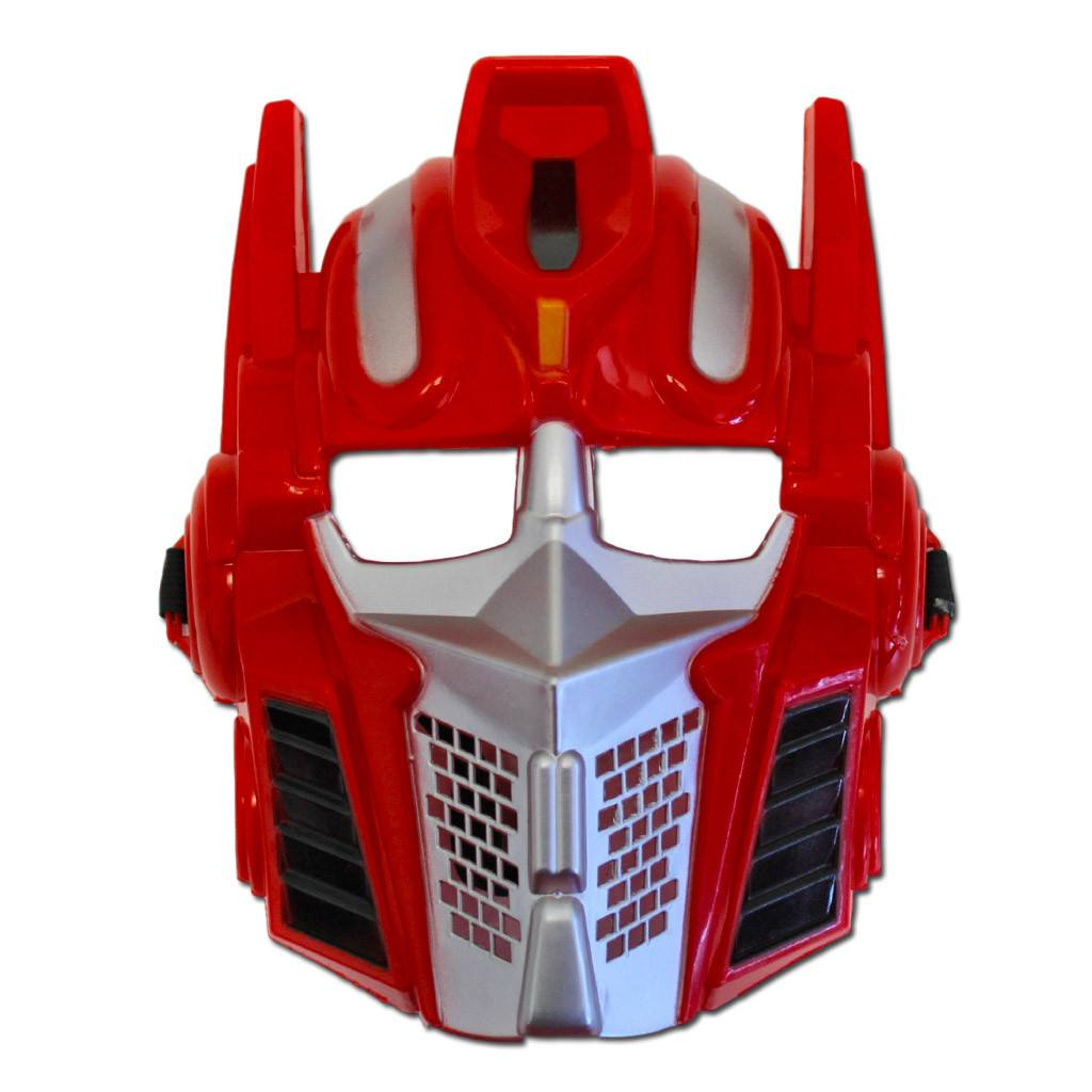 Childrens Red Transformer Mask - Fancy Dress Costume - Simply Party Supplies