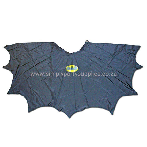 Bat Boy Childs Fancy Dress Scalloped Cape