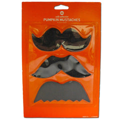 Broad Black Moustache Variety Set accessories, black, costume, facial hair, fancy dress, great gatsby, mens, moustache