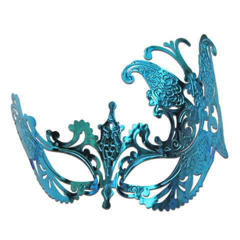 Butterfly Scout Masquerade Mask Light Blue