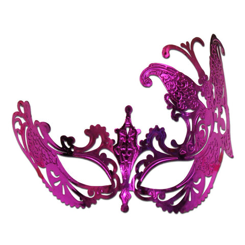 Butterfly Scout Masquerade Mask Pink