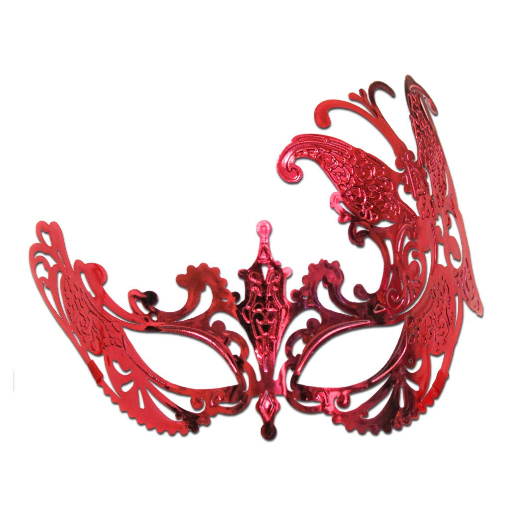 Masquerade Mask - Butterfly Scout Masquerade Mask Red