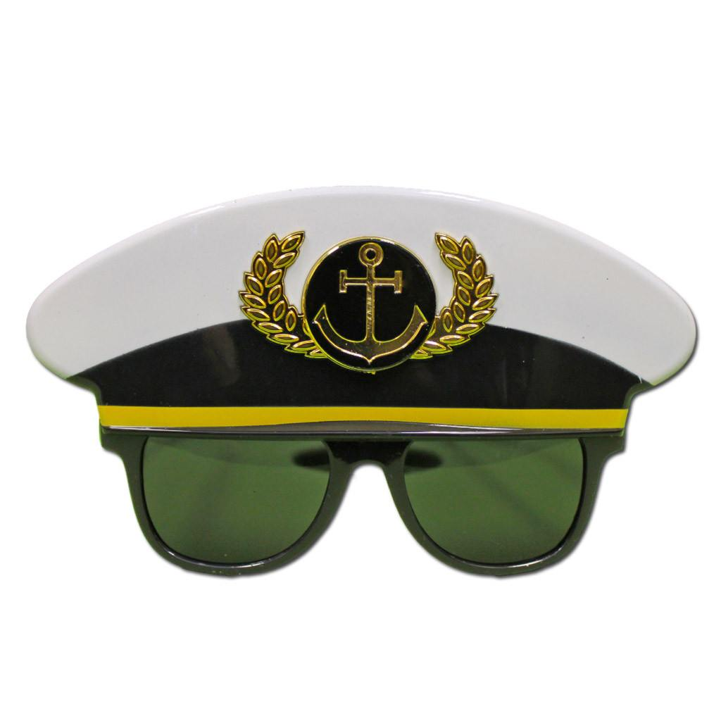 Captains Costume Glasses - Glasses - Simply Party Supplies