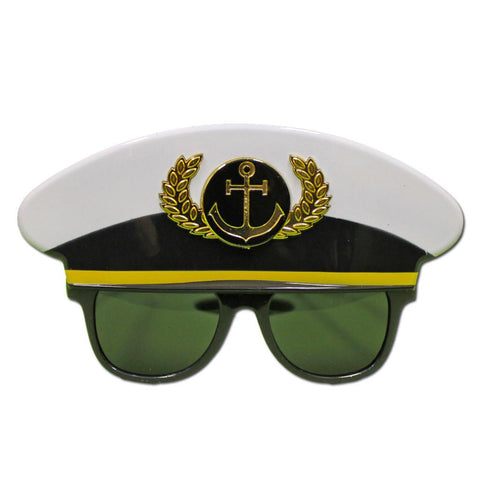 Captains Costume Glasses accessories, captain, fancy dress, glasses, masquerade, mens, nautical, womens
