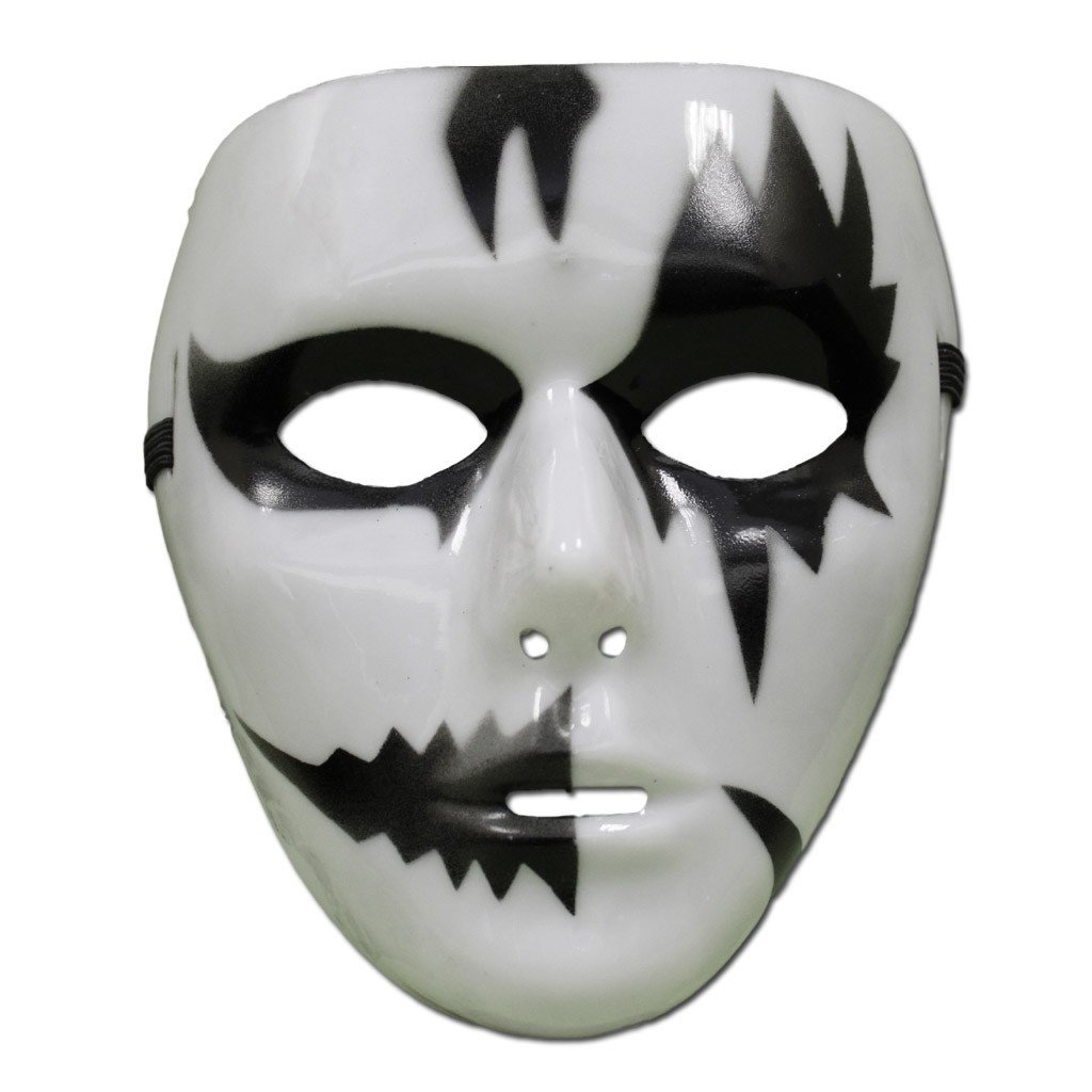buy black and white jabbawockeez mask - style 1 at simply party