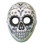 Day Of The Dead Masquerade Mask With Skull Design
