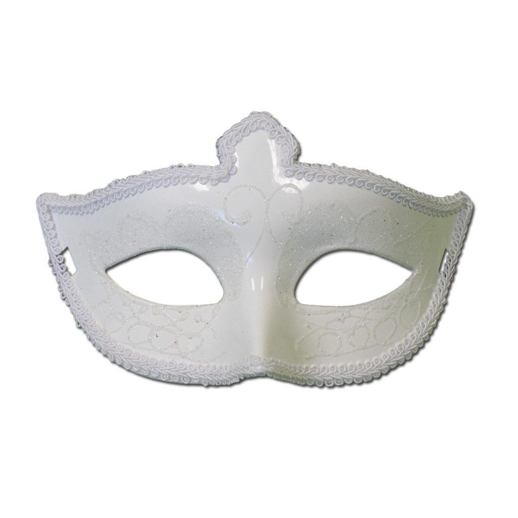Masquerade Mask - Fancy Scout Masquerade Mask With White Trimming