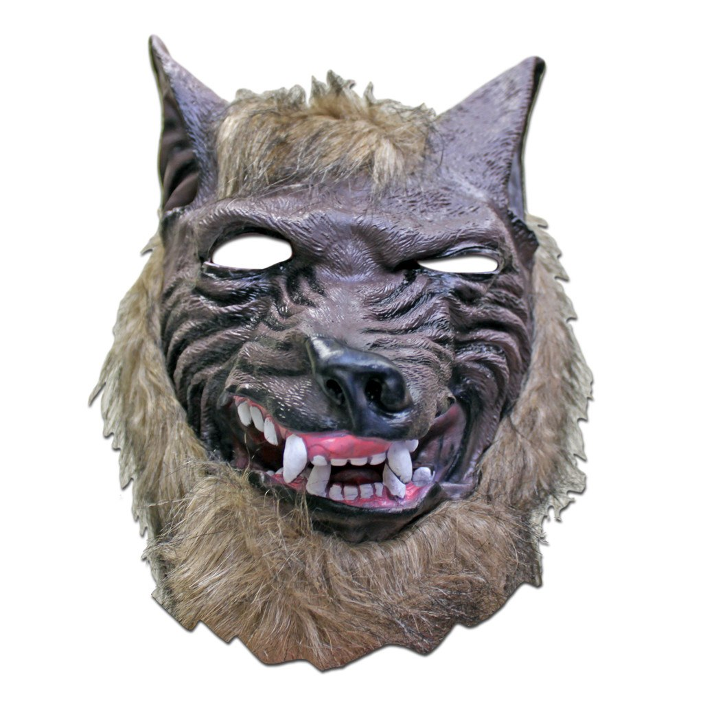 Werewolf Scary Halloween Mask adult one size, fancy dress, halloween, masks, mens, scary, werewolf, wolf
