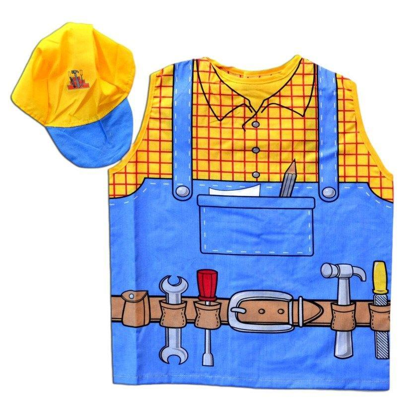 Childrens Handy Man Costume Ages 4-7 - Fancy Dress Costume - Simply Party Supplies