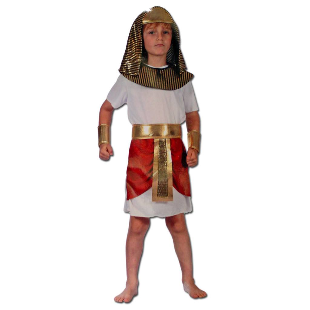 Fancy Dress Costume - Boys Egyptian Pharaoh Costume