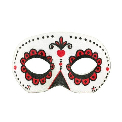 Rubber Mask - Day Of The Dead Masquerade Mask  - Classic