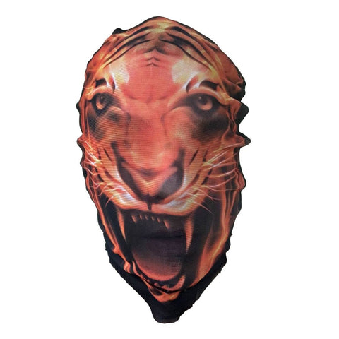 Tiger Stocking Mask animals, fancy dress, halloween, masks, mens, scary, stocking, stocking mask, tiger