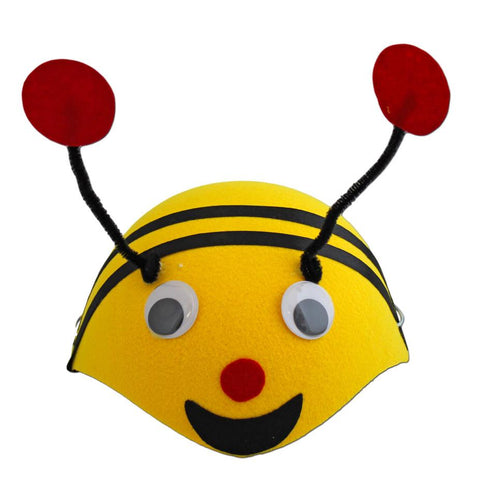 Fancy Dress Costume Accessory - Childrens Bee Skull Cap