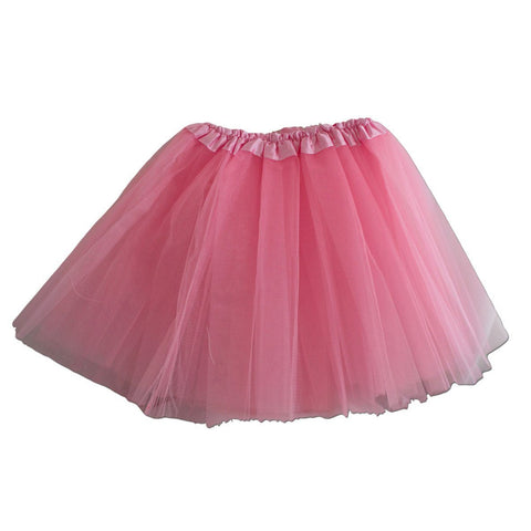 Fancy Dress Costume - Girls Light Pink Tulle Tutu