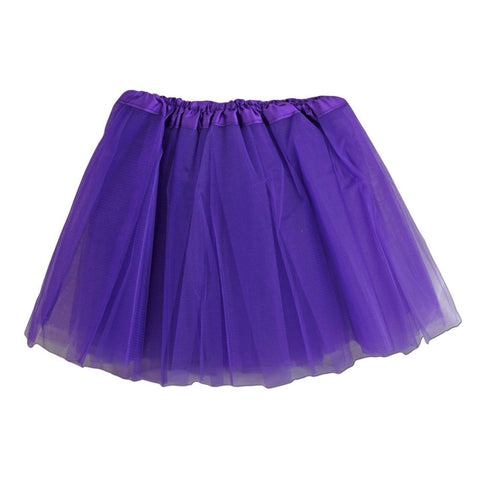 Girls Purple Tulle Tutu
