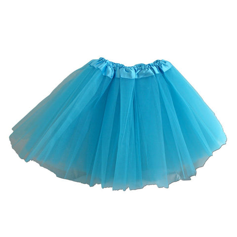 Girls Light Blue Tulle Tutu