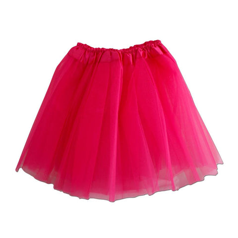 Girls Dark Pink Tulle Tutu