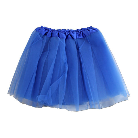 Adults Tulle Tutu Skirt - Royal Blue 40cm
